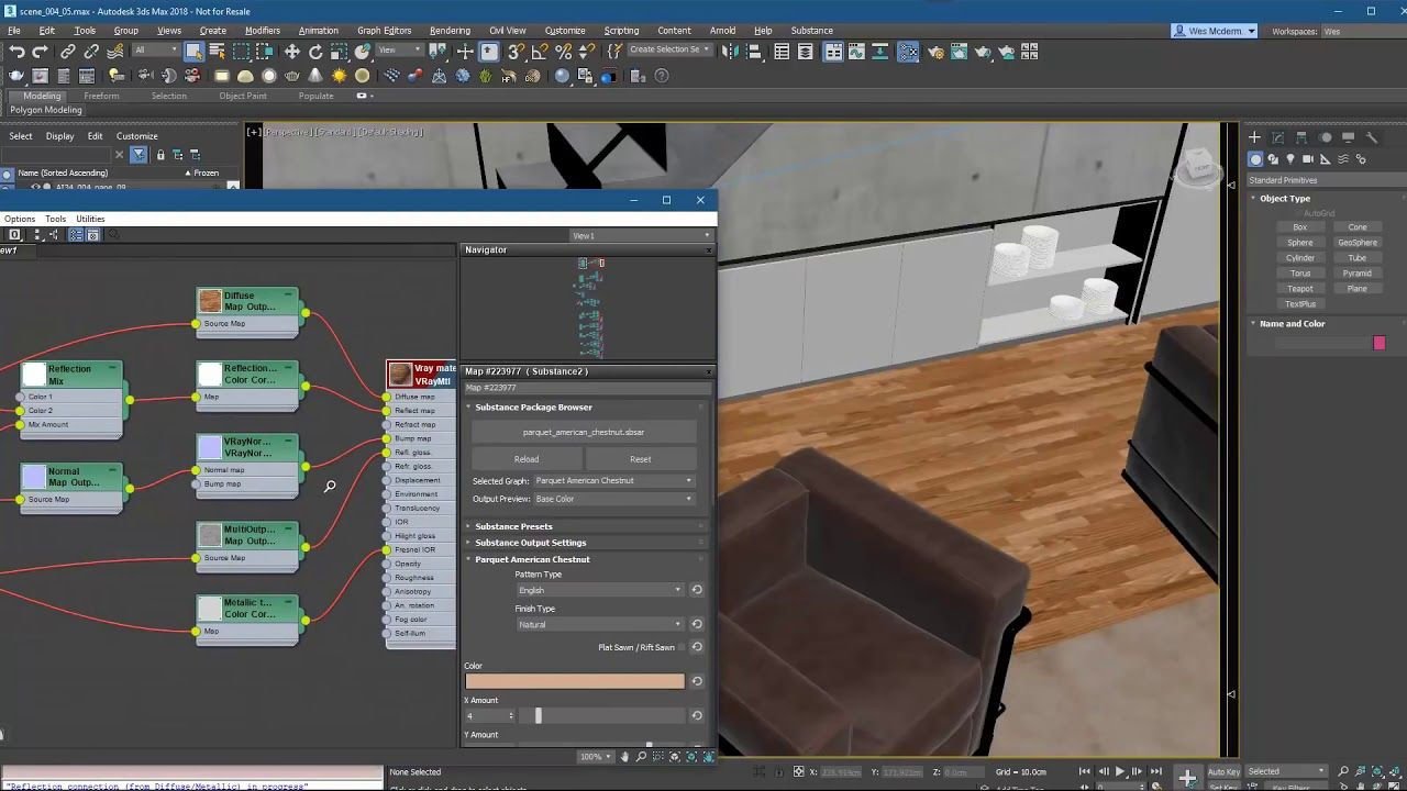 Substance For 3ds Max Tutorial How To Use Substance Plugin Viera
