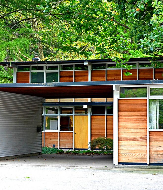 Max De Pree House Designed In 1954 The Zeeland Michigan Home Of