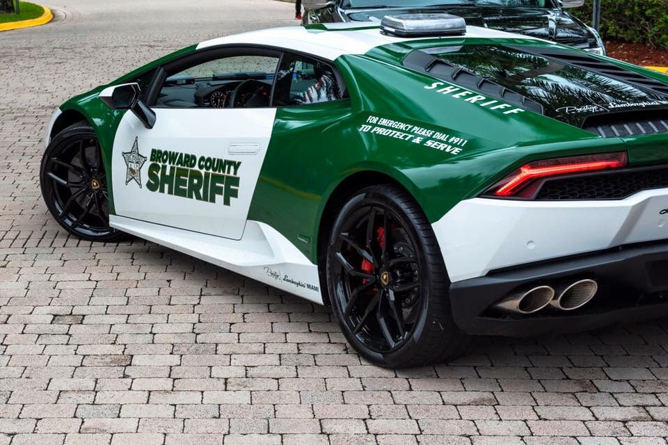 Broward County Sheriff S Office Florida Wrap Lamborghini