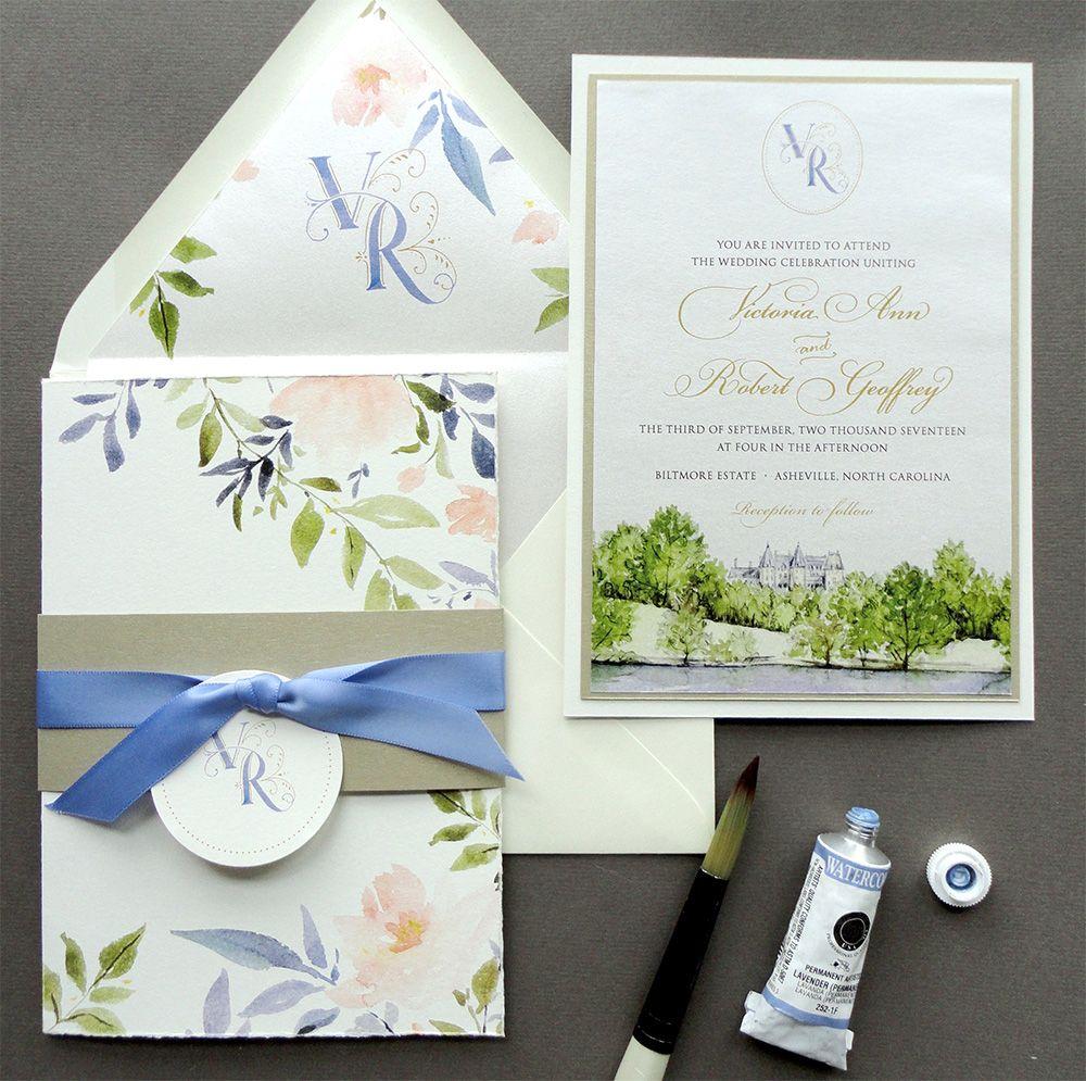 Biltmore Estate wedding invitations | Wedding | Pinterest | Biltmore ...