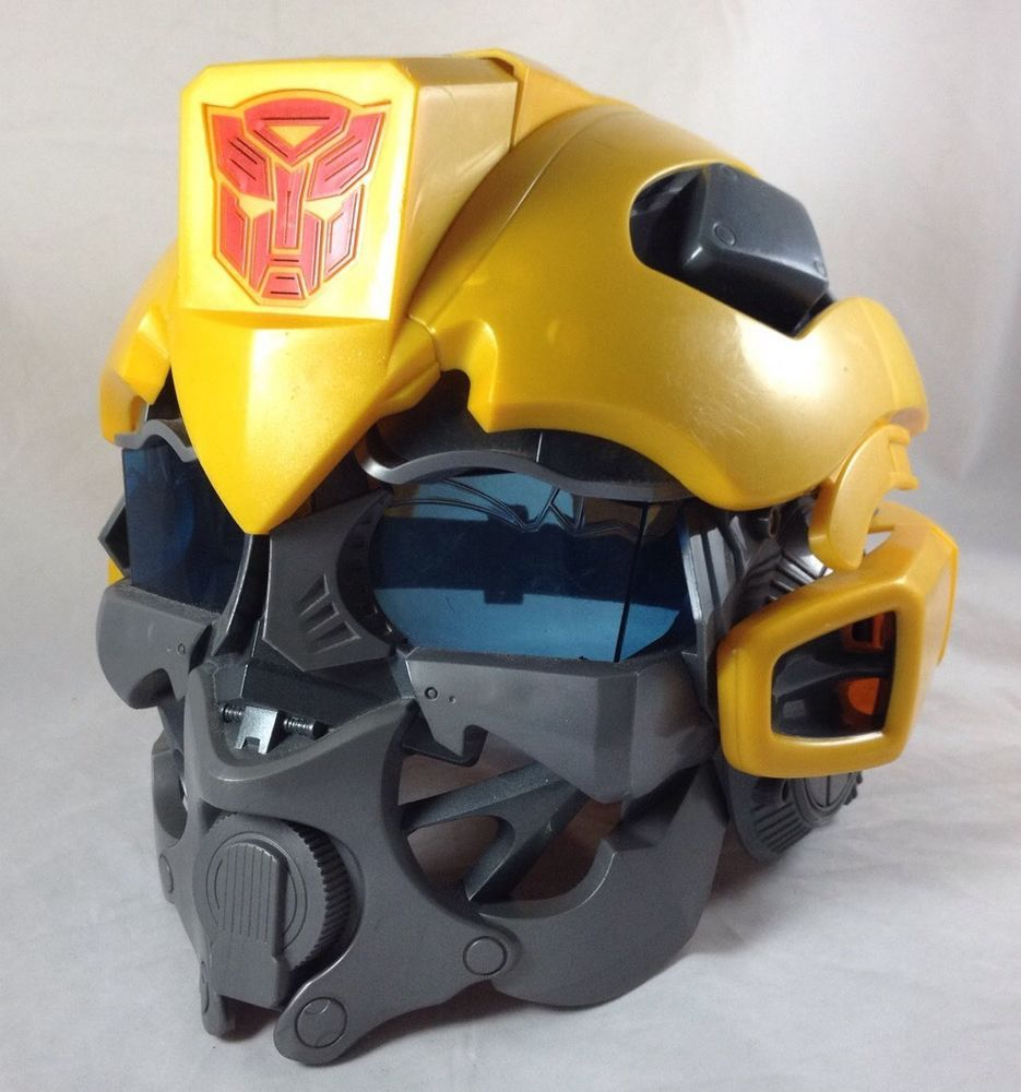 Transformers Bumblebee Voice Changing Helmet Mask 2008 Hasbro ROTF ...