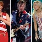 Artists Wearing the American Flag