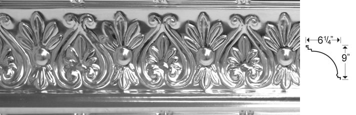 Egg Dart Small Tin Ceiling Xpress Home Of The Highest Quality
