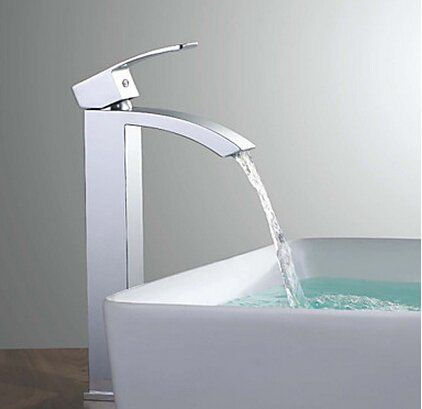 Bathroom Faucets Diy Boen La019b Bathroom Sink Faucet Waterfall Vessel Sink High Faucet Single Han Bathroom Sink Faucets Bathroom Sink Faucets Waterfall Sink