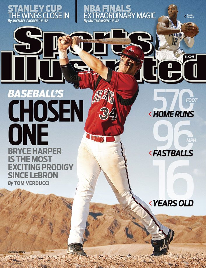 Las Vegas High School S Bryce Harper Appears On Si Photo Blog Sports Illustrated Covers Bryce Harper Sports Illustrated
