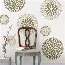 Wall Art Kit - Chrysanthemum