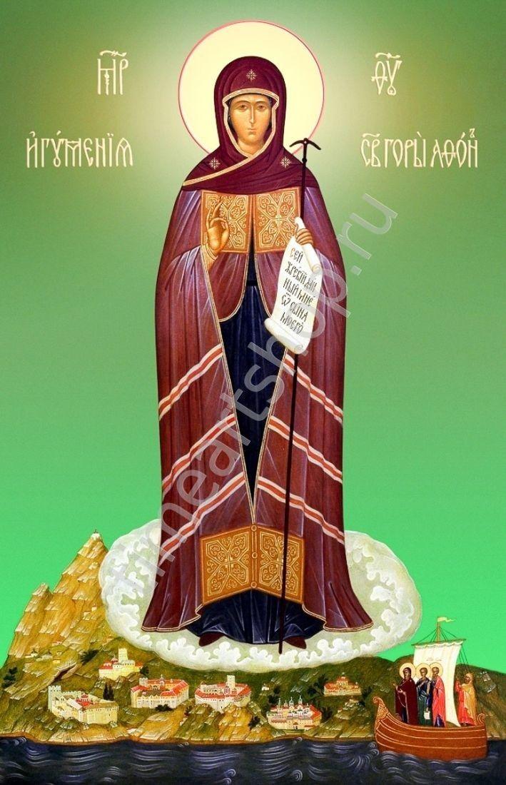 Афонская Игуменья Святой горы икона Божией Матери, картина ...