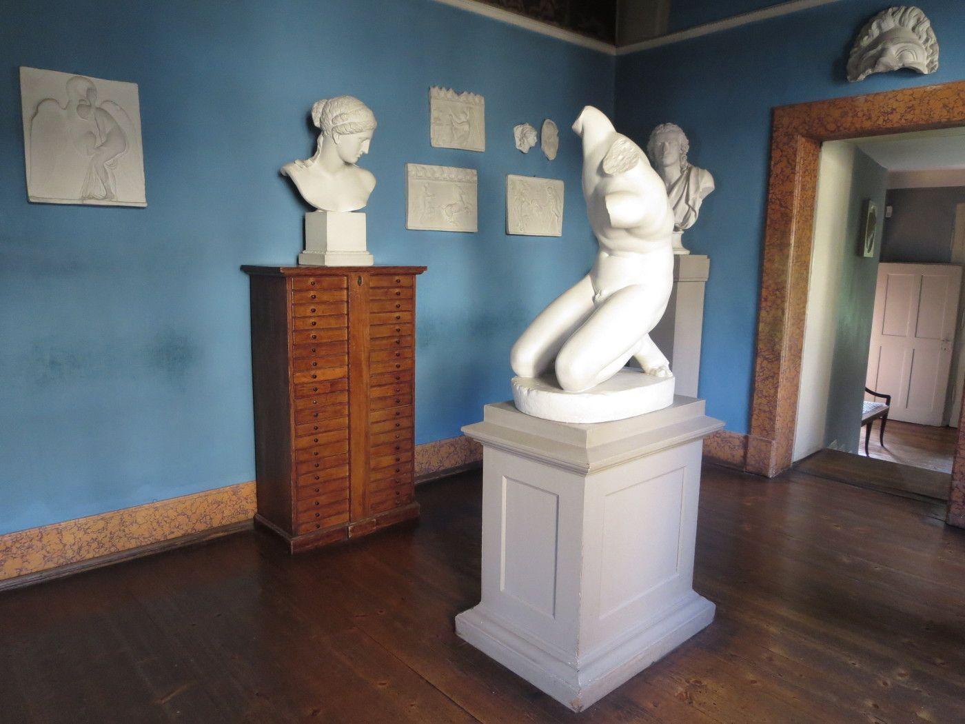 Nog enkele beelden uit het Goethehaus in Weimar
