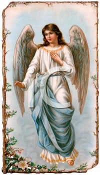 vintage angel clip art