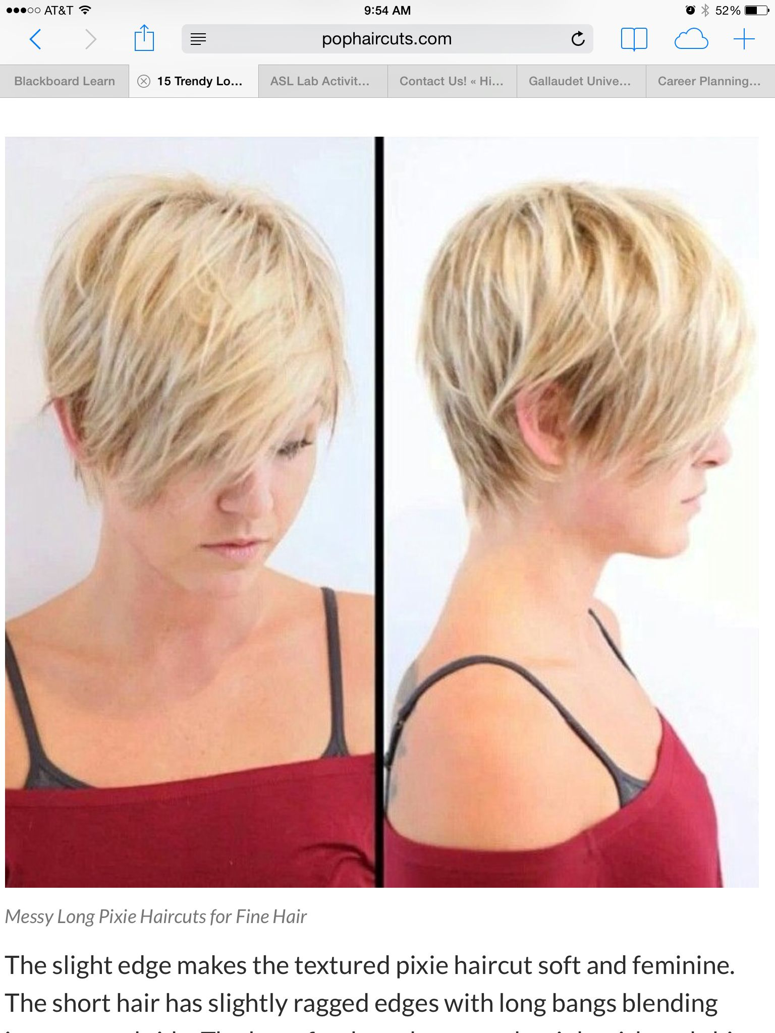 Pinterest Short Hairstyles For Fine Hair Topsimages