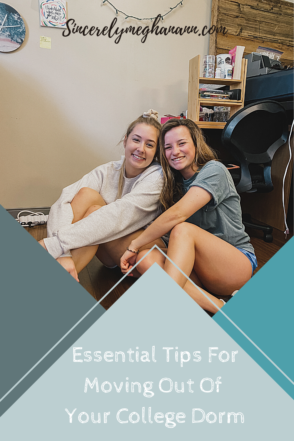 Tips For Moving Out Of Your Dorm » Sincerely, Meghan Ann This post is for all of the Freshman in college who are moving out of their dorms for the first time! The process is overwhelming! You will need these tips to help you organize your process and make sure you do things efficiently. #movingout #moveoutday #collegemoveout #dormmoveout #collegedorm #moveoutadvice #essentialtips #moveouthacks #collegeblogger #collegeadvice