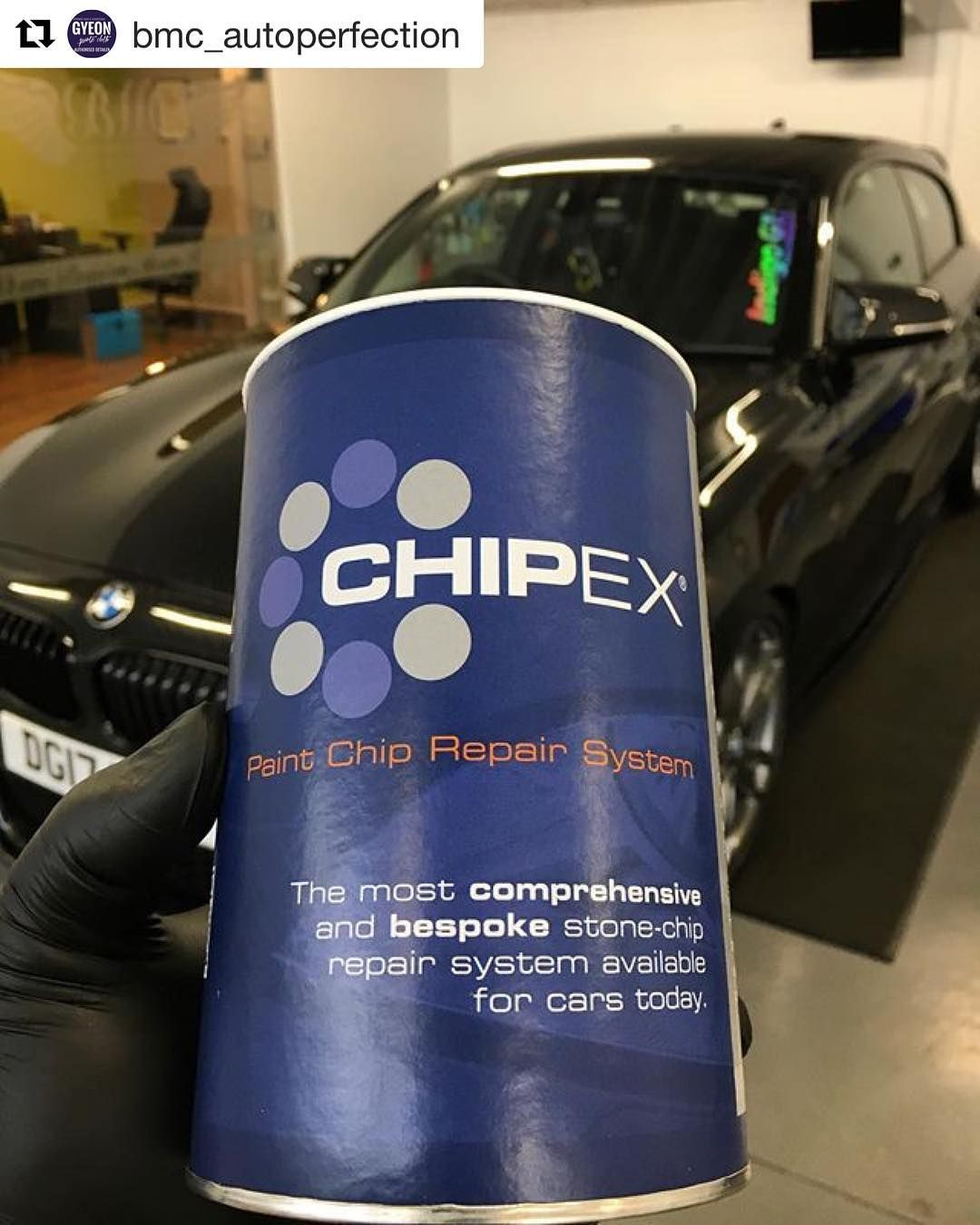 Have you got before and after photos of you using a Chipex