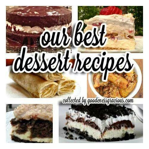 Our 50 best dessert recipes