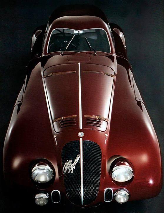 1938 Alfa Romeo 8c 2900b Superleggera  U0026 39 Le Mans Coupe