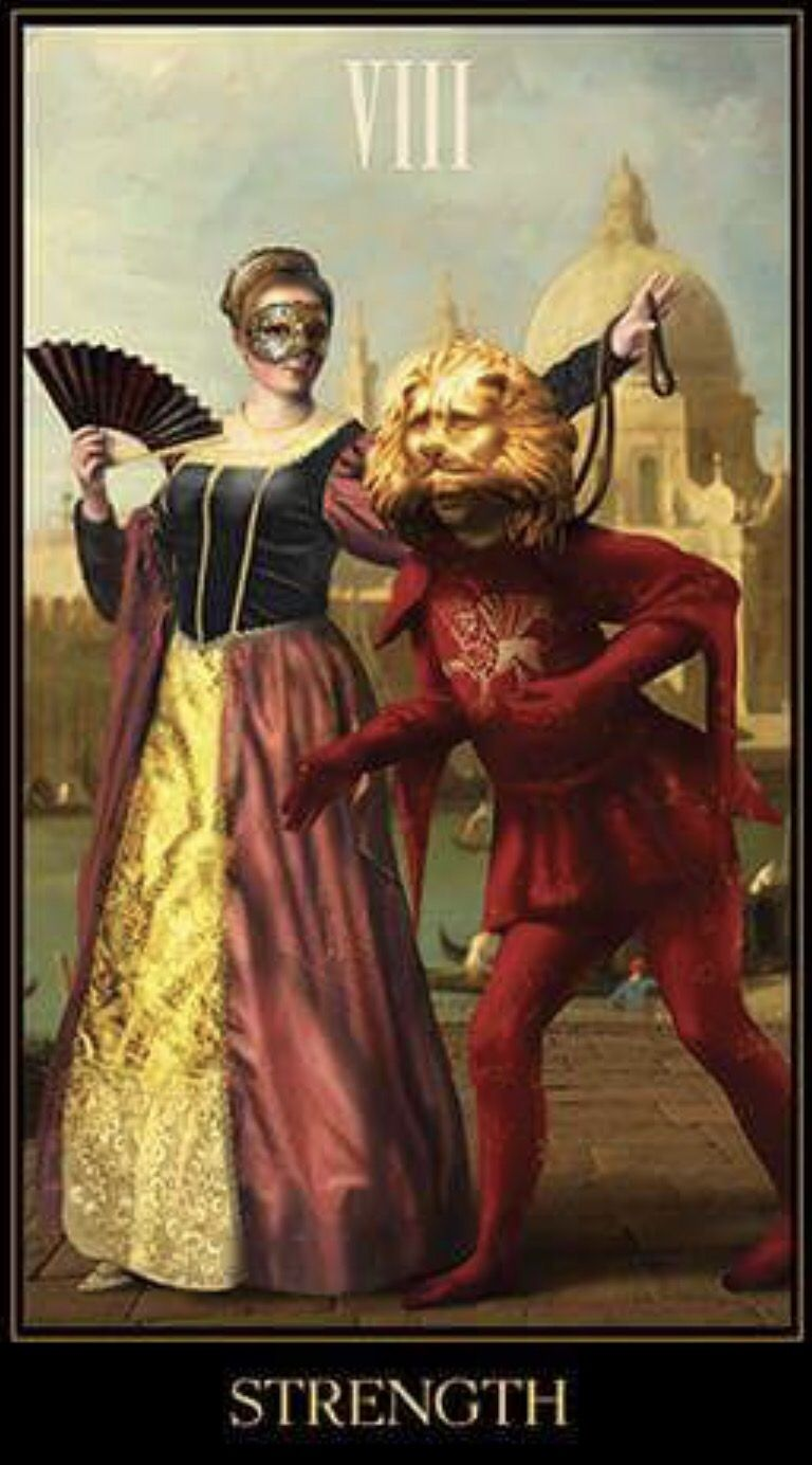 Featured card of the day strength tarot by