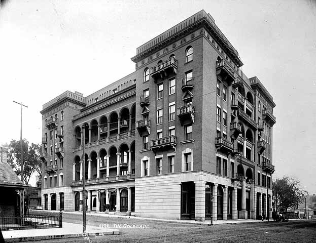 The Colonnade Hotel In Its Splendid Glory Building Multifamily Housing Apartment Building