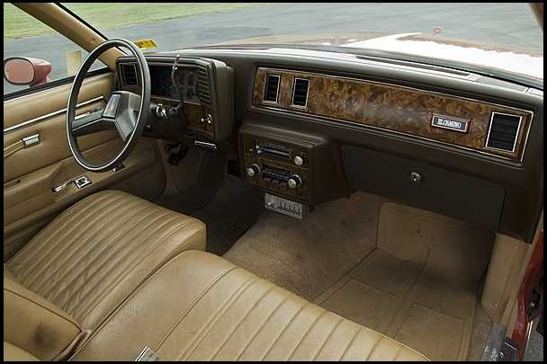 1981 Chevrolet El Camino 305 Ci Automatic Presented As Lot S40 At