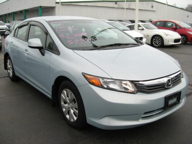 2012 Honda Civic Sedan / 4dr Auto LX U003e Parkway Honda | New Honda Certifed  And