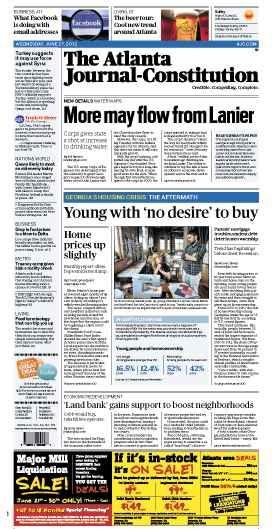 The Atlanta Journal-Constitution: June 27, 2012.