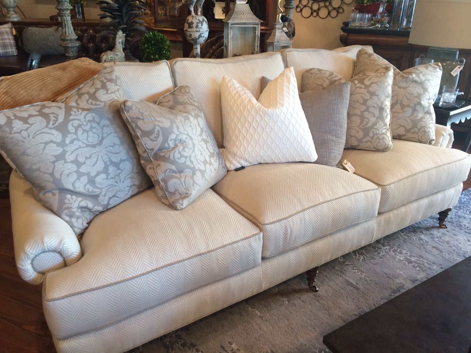 Camerich Sofa Review Sears Bed Chaise Herringbone Pattern Home Co