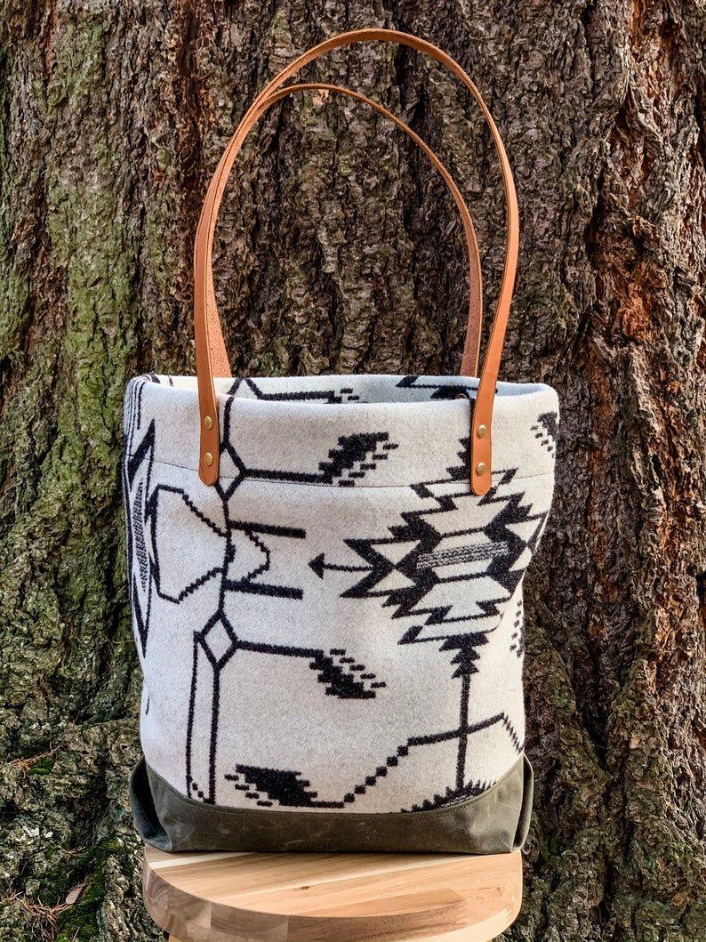 Bag made with Pendleton Wool