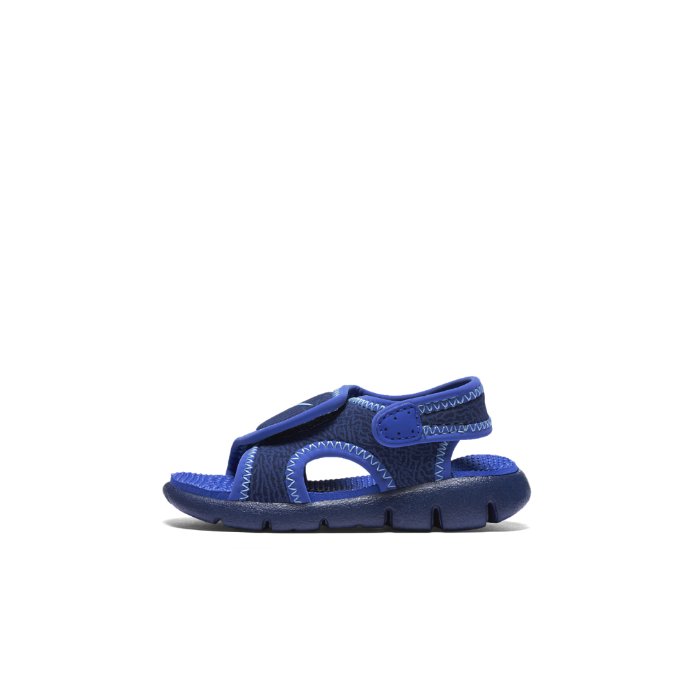 d9d8a6d08ded Nike Sunray Adjust 4 Infant Toddler Sandal Size 10C (Blue ...