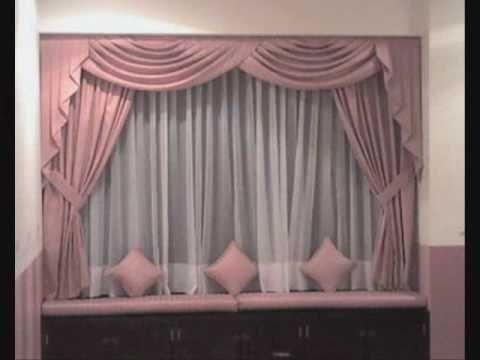 Cómo hacer una cortina - YouTube CORTINAS Pinterest Cortinas