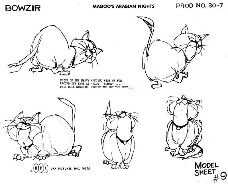 Magoo's Arabian Nights cat