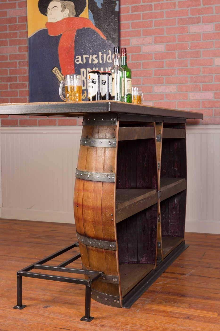 Photo of Napa East Double Wine Barrel Bar