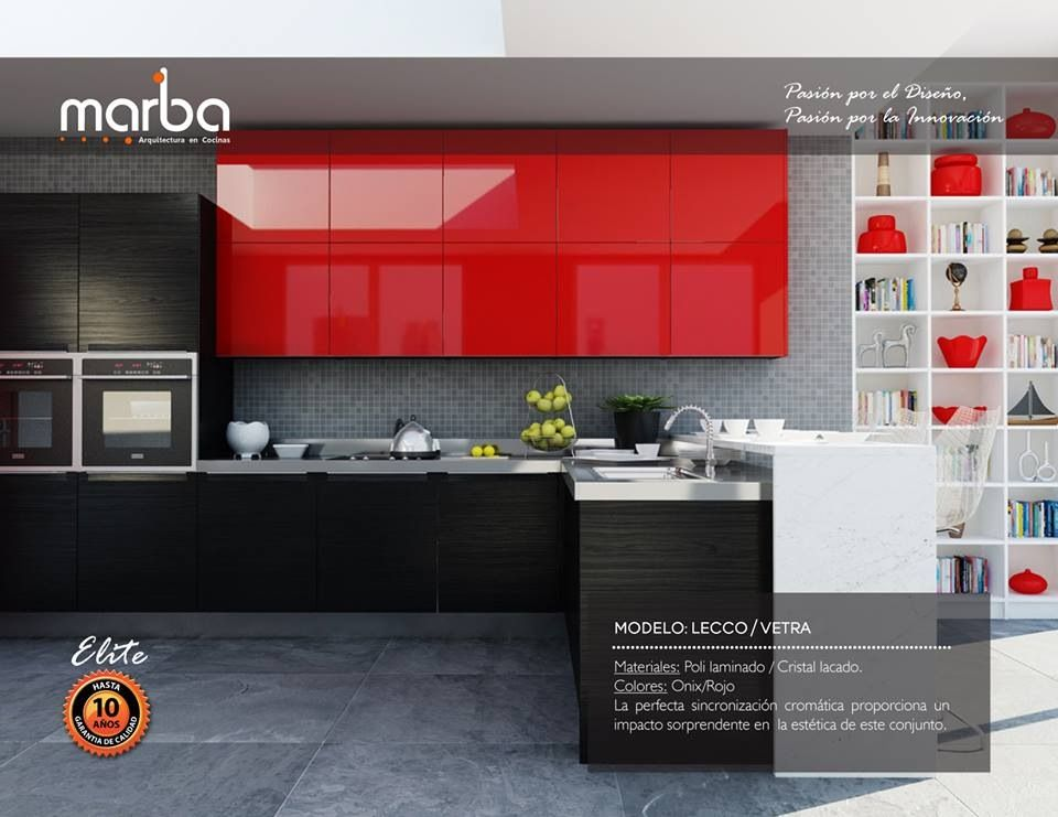Cocina roja ARQUITECTURA Pinterest Ideas para, Kitchens and House