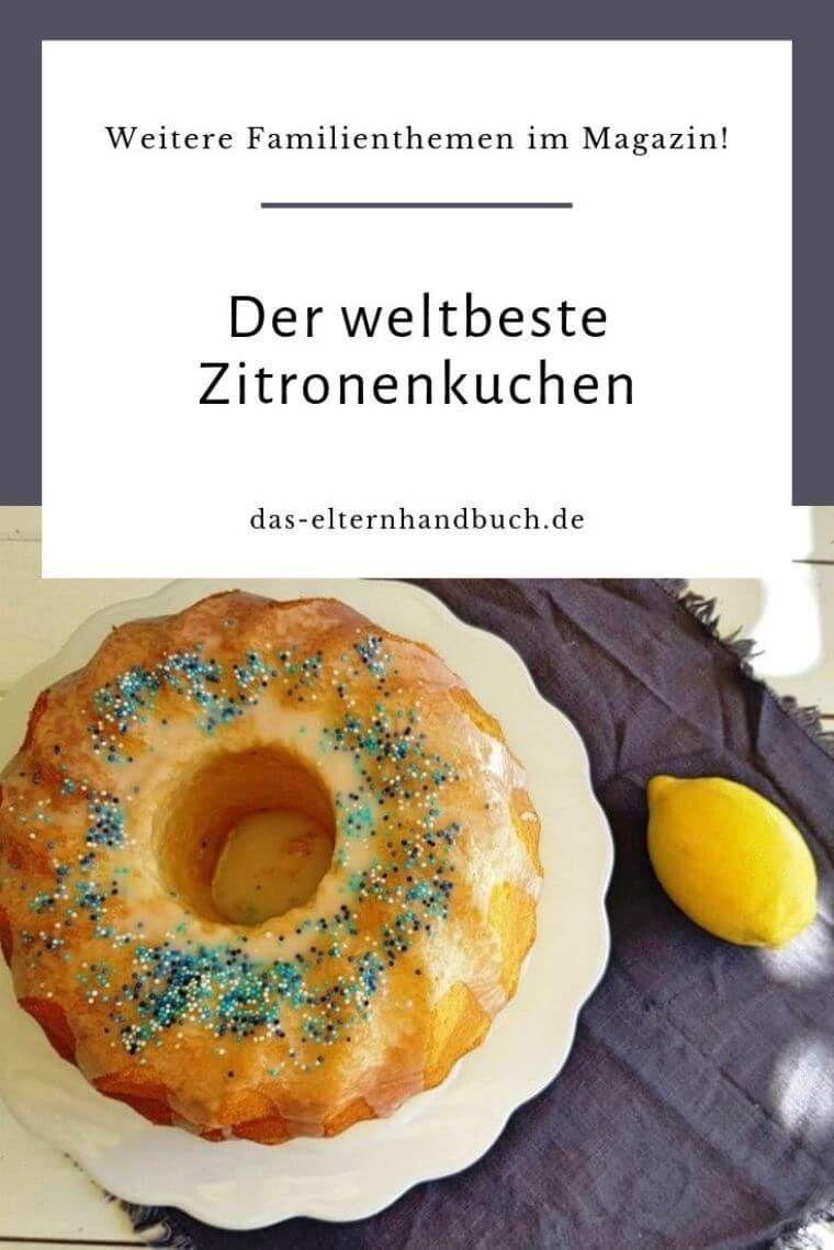 Der weltbeste Zitronenkuchen