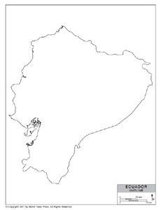 Outline Of Ecuador The Country That Stole My Heart Tattoo - Colored outline map of ecuador