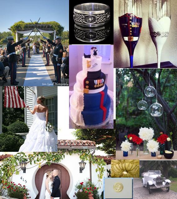Military Wedding Ideas Www.MadamPaloozaEmporium.com  Www.facebook.com/MadamPalooza