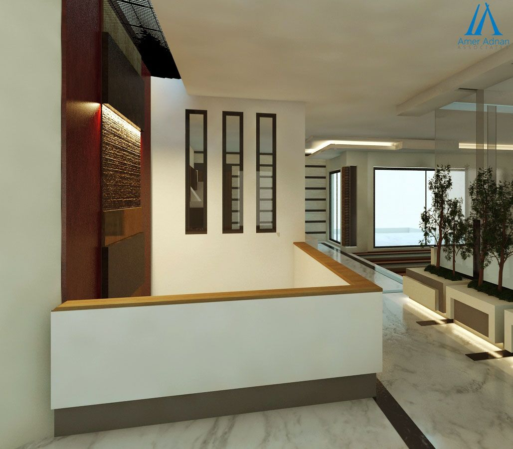 3d Design For Reception Area By Designer At Aaa With Images