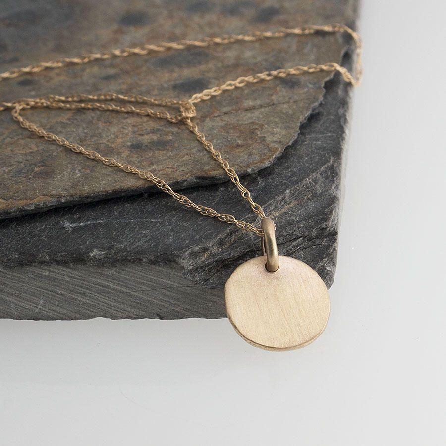 Rustic nugget necklacerustic gold necklacek gold necklacek