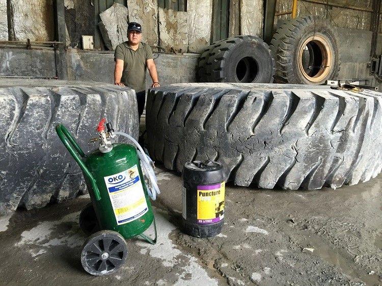 لاستیک بریجستون OKO Puncture Free Tyre Sealant