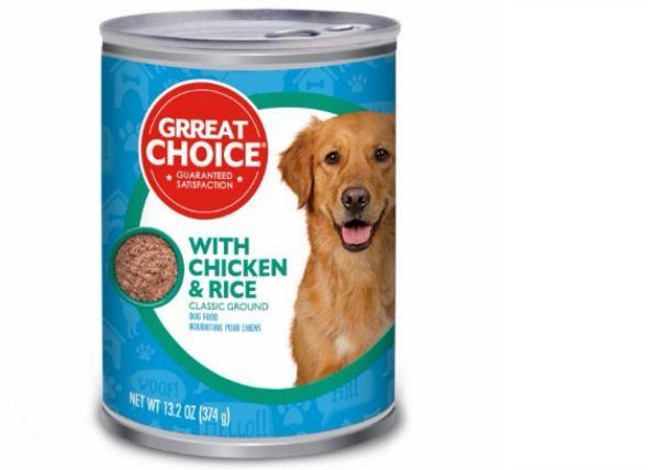 Petsmart Recalls Lot Of Grreat Choice Adult Dog Food Dog Food
