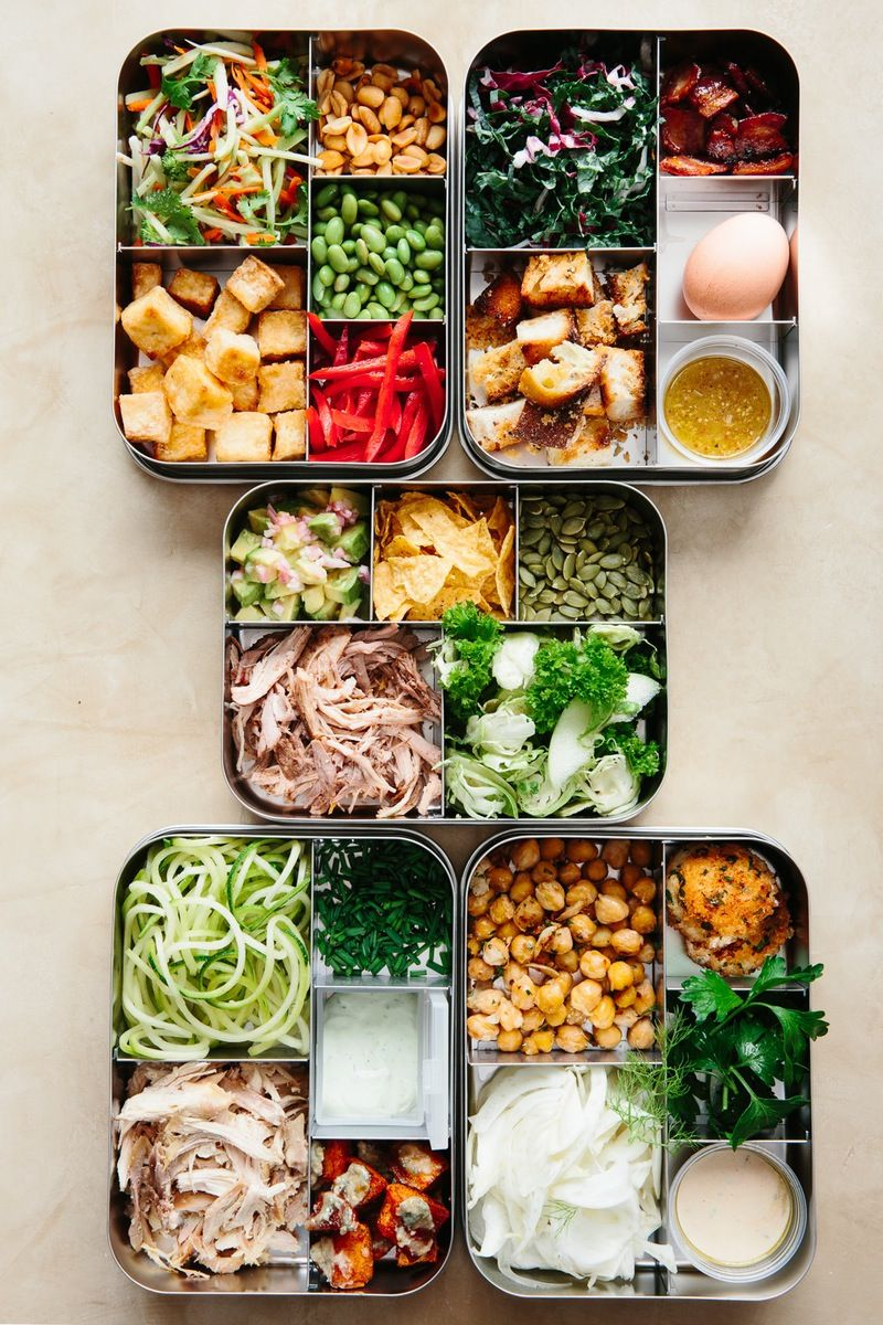 Sunday Night Salads: 5 Recipes to Make Ahead and Eat All Week...