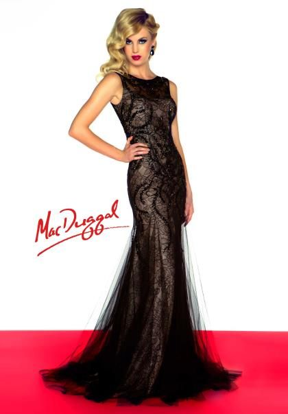 MacDuggal Dresses50187R Dress at Peaches Boutique