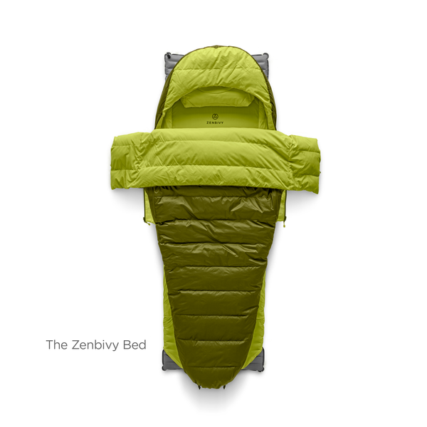Bed 23º Useful Down Sleeping Bag Tent Camping Beds