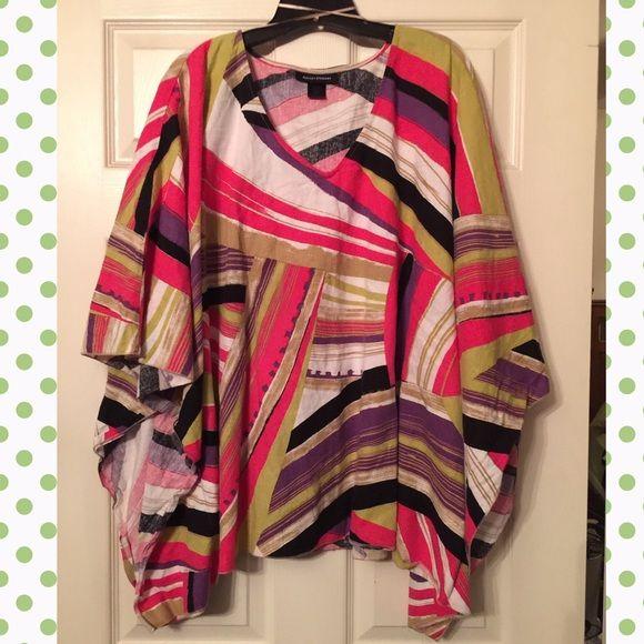 Ashley Stewart - Linen kimono top Ashley Stewart - Linen kimono top Ashley Stewart Tops