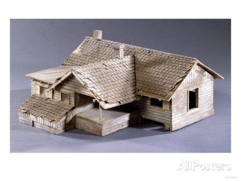 Model For Dorothys Farmhouse In Kansas The Film Wizard Of Oz 1939