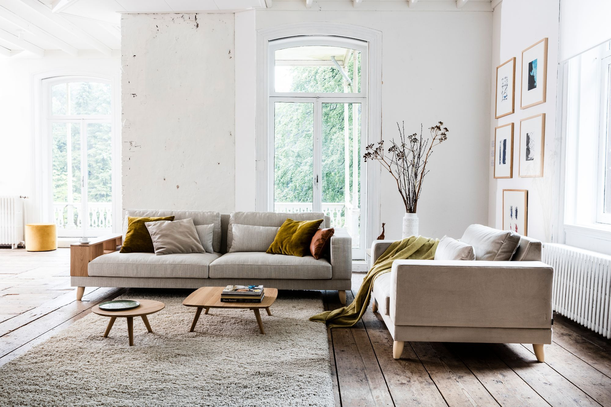 Axel XL sofa by Gijs Papavoine for Montis tv room