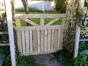 Gartentor selber bauen diy anleitung und 45 einzigartige beispiele garten - Gartentor bauen anleitung ...