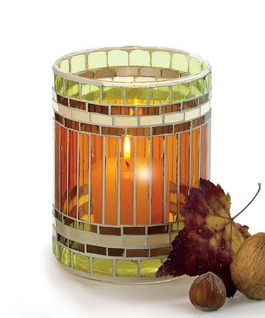Take a look at this Jardin Mosaic Glass Votive by tag on #zulily today!