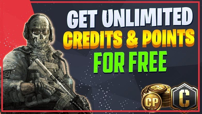 How to get unlimited free call of duty credits and points