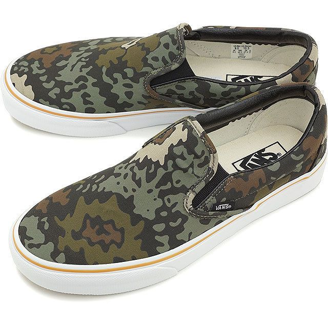 42be148e98e VANS CLASSIC NEW Unisex Camo Floral Slip On Canvas Skate Sneakers Shoes 9.5   VANS  SlipOnSneakers