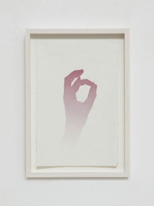 Marco Basta - L'ala di un'ape (A bee's wing), 2012: Inkjet print, pastel, hand engraving on japanese paper / 38,5 x 27,5 cm