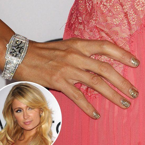 Paris Hilton Glitter Nail Polish