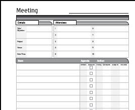 Compact Meeting  Up Front And Back  DIY Planner  Planner